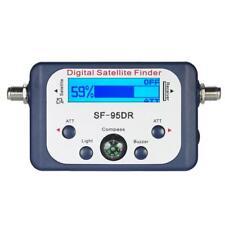 SF-95DRL Mini LCD Digital Satellite Finder Meter Signal Strength w/ Compass Q8L1
