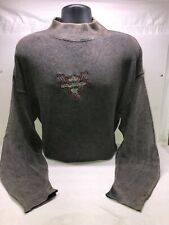 1989 Harley Davidson Motor Clothes Longsleeve Sweatshirt Cover Up Size Large
