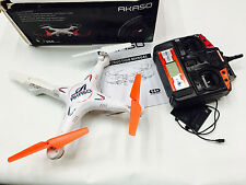 Akaso X5C 4CH 2.4GHz 6-Axis Gyro Headless  Quadcopter W/ HD Camera Micro SD A-87