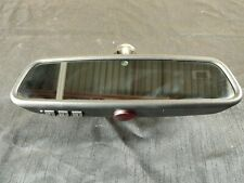 Rear View Mirror Hidden Compass Homelink Garage Opener Auto Autodim OEM BMW E70