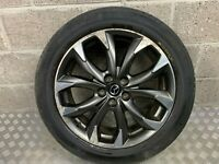 "2015 MAZDA CX-5 19"" 19 INCH DIAMOND CUT ALLOY WHEEL WITH TYRE 4.7MM 225/55/ R19"