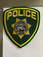 CALIFORNIA POLICE - DEPT OF MENTAL HEALTH PATCH