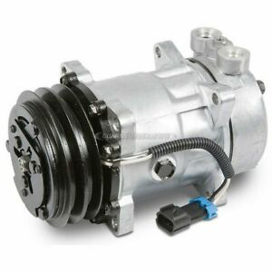 For 1985 Mazda RX-7 AC Compressor & A/C Clutch Replaces Sanden SD7H15 GAP