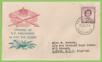 New Zealand 1954 Opening of Parliament by H.M. QEII souvenir cover, Parliament