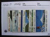 NEW ZEALAND scenic walks set Sc 1602-7 MNH