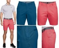 Under Armour UA Showdown Chino Golf Shorts - RRP£50 - ALL SIZES - Blue or Coral