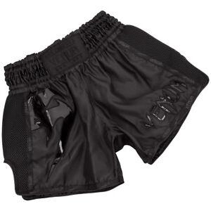 Venum Giant Lightweight Muay Thai Shorts - Black/Black