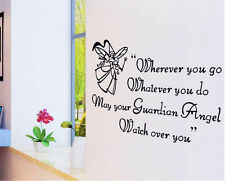 Angel English Home Decor Removable Wall Sticker/Decal/Decorations