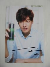 Lee Min Ho Korean Actor Signed 4x6 Photo Autograph hand signed USA Seller 25