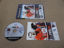 PS2 Playstation 2 PAL Spiel FIFA 08 mit Box Anleitung