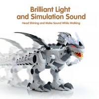 FT- Electronic Mechanical Spray Dinosaur Model with Music Light Educational Toy
