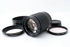 【Exc】CONTAX Carl Zeiss Planar T* 100mm F/2 MMJ w/Hood Lens for CY Mount 540552