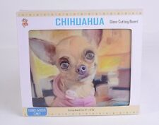 CHIHUAHUA DOG Glass Cutting Board Little Gifts Serving Tray Kitchen HOME Decor