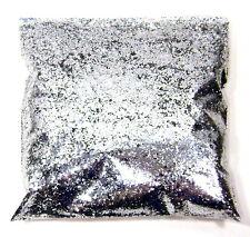 "9oz / 266ml Chrome Silver Metal Flake .025"" Auto Paint Additive Flakes LF939"