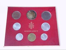 1967 and 1969 Vatican Coin Sets w/ .500 Silver Liras. BUY NOW!!