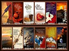 """Inspirational Christian Church Banners 24"""" x 60"""" (PICK-ANY-ONE)"""
