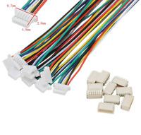 6Pin SH 1.0mm 1,0mm Mini Micro JST Stecker 15cm Kabel 28AWG + Buchse 1 2 3 4 5