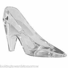6 Cinderella Glass Slippers Party Favors Princess Shoe 5 x 3 CENTERPIECE WEDDING