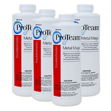 ProTeam Metal Magic 1qt 4pk Removes Metal & Scale From Swimming Pool & Spa Water