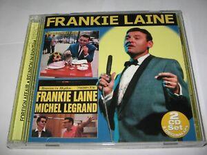 FOREIGN AFFAIR (1958) & REUNION IN RHYTHM (1959) 2 FRANKIE LAINE ALBUMS on 2 CDs
