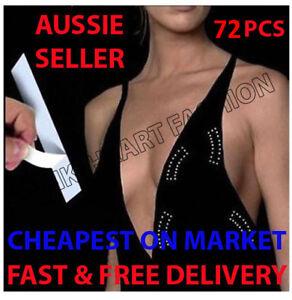 72 PCS Invisible Secret Hollywood Fashion Tape Dress Wig Toupee Cheapest on Sale