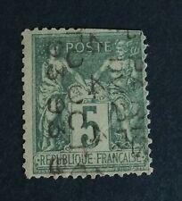 France Preos N° 15 5 C Vert Obli Beau D'aspect  Bonne Présentation Côté 650€