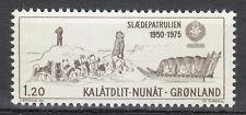 Greenland 1976 Mi 97 Sc 101 MNH Dogs Sirius sled patrol & Dog sled.Slania **
