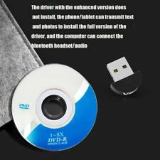 USB 5.0 Bluetooth Adapter Wireless Dongle High Speed For PC Windows Computer aa
