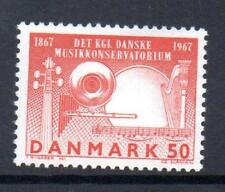Denmark Mnh 1967 Sg481 Centenary Of Royal Danish Academy Of Music
