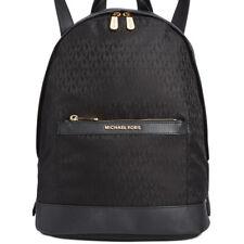 New Michael Kors MK Morgan Nylon Backpack Black & Gold 100% Authentic MSRP $298