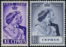 Multiple George VI (1936-1952) Cypriot Stamps