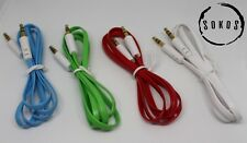 Sokos 3ft Auxiliary Cable Cord Male to Male for Car Audio, Headphones, iPod, MP3