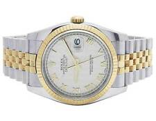 Mens Rolex Datejust 36MM 116233 18K/ Steel Two Tone Oyster Concealed Clasp Watch