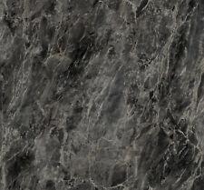 ROMEO SILVER BLACK MARBLE SELF ADHESIVE STICKY BACK PLASTIC FILM DCFIX 1m x 45cm