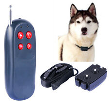 4in1 Shock+Vibrate Remote Small/Med pet Dog Training Collar Controller Trainer