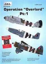 Blackbird Decals 1/48 Operation Overlord British Aircraft Part 1