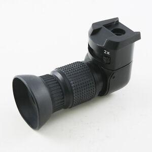 1-2X Kamera Rechtwinklig Right Angle Finder Winkelsucher für DSLR SLR Kamera