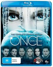 Once Upon A Time : Season 4 (Blu-ray, 2016, 5-Disc Set)