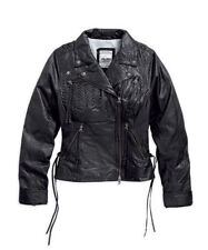 Plus Size Leather Casual Coats & Jackets for Women