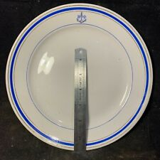 More details for very rare russian soviet navy high ranking officers mess dinner plate