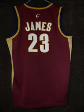 LEBRON JAMES New 2005 Mitchell & Ness Cleveland Cavaliers Embroidered Jersey 52