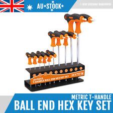10 Piece T-Handle Allen Key Hex Key Set Combination Hex Key Wrench Key 2mm-10mm