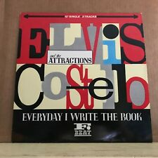 "ELVIS COSTELLO Everyday I Write The Book 1983 UK 12"" Vinyl Single EXCELLENT COND"