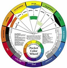 NEW Pocket Colour Wheel  Aid to help you mix colours