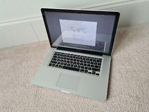 Apple MacBook 15 Early 2011 laptop computer Intel i7-2.20GHz 4GB 250GB Sierra