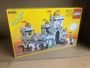 MISB Sealed New Lego Vintage 1984 Classic Lion Knights King Castle 6080 NIB rare
