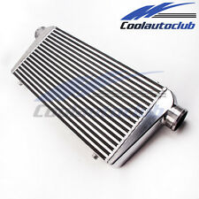 Aluminum Intercooler Inter Cooler 600 X 300 X 76 mm Front Mount 3inch BAR+PALTE