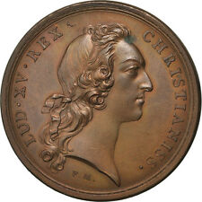 [#64702] FRANCE, Politics, Society, War, Louis XV, Medal, AU(55-58), Copper, 41