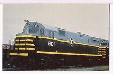 BELT RAILWAY OF CHICAGO Alco C-424 Number 601 Railroad Postcard
