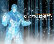 "SUB-ZERO Ice Clone Variant 2015 Comic Con Exclusive Mortal Kombat X 6"" Figure"